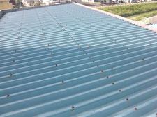 屋根の遮熱塗装:工事前写真