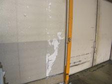 ALC壁の修復:工事前写真