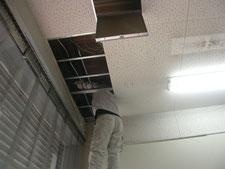設備増設工事:工事中写真