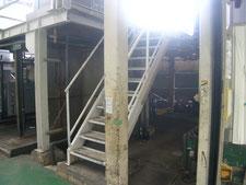 鉄骨階段の解体撤去:工事前写真
