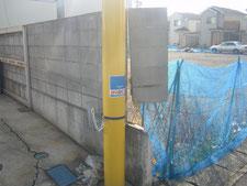 ブロック修理:工事前写真