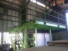 工場内中二階の新設:工事後写真
