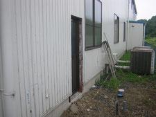 トイレ棟の新設:工事前写真