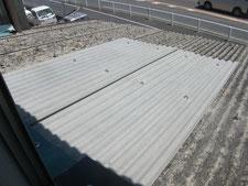 小波スレートの張り替え:工事後写真