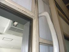 エアコン排水ドレンホース修理:工事後写真