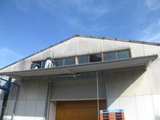 鉄製サッシ窓硝子:工事前写真