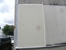 破損させた外壁の取り替え:工事後写真