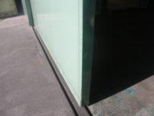 ハンガードアの歪強制:工事後写真