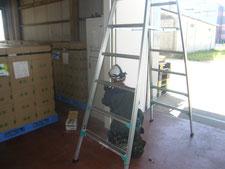 門番のレール取り替え作業:工事中写真