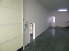 間仕切り壁開口:工事後写真