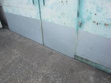 ボンデ鋼板の増し張り:工事後写真