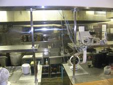 厨房出入口の新設:工事後写真