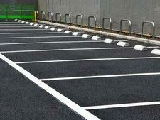 駐車場の工事写真