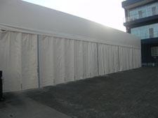テント倉庫:工事後写真