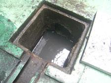 配管の高圧洗浄:工事後写真