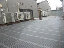 ポリカ製の屋根:工事前写真