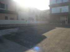 テント倉庫:工事前写真