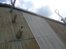 壁とケラバの改修:工事中写真