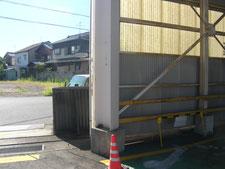 カーブミラーの設置:工事前写真