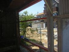 スレート工場の改修:工事中写真
