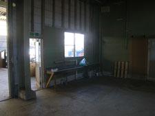 工場内物置の解体:工事後写真