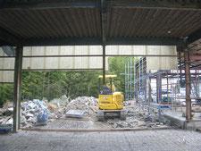 手動シャッターの新設:工事前写真