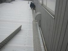 二重水切りの施工:工事前写真