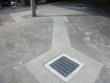 舗装の水たまりを解消:工事後写真