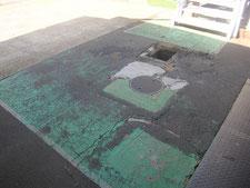ピット及び舗装の改修:工事前写真