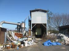 ホッパー小屋の解体:工事前写真