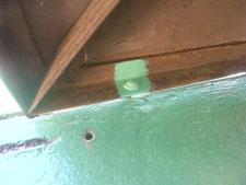 ガイド棒溶接:工事後写真