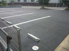 駐車場を新設:工事後写真