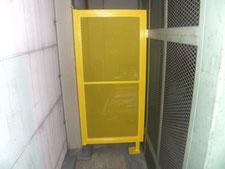 移動規制柵の新設:工事後写真
