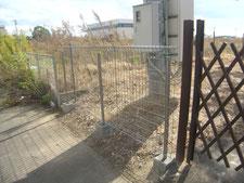 フェンスの取り替え:工事後写真