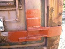 屋外コンテナの修理:工事後写真
