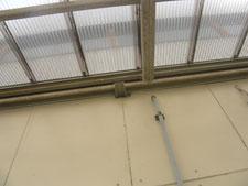 雀侵入防止対策工事:工事前写真