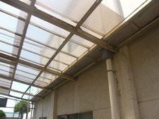 雨樋(庇)の改造:工事前写真