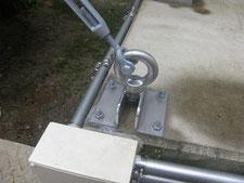 亜鉛メッキ金物の製作:工事後写真