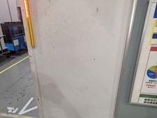 腐食鉄骨柱の補強補修:工事前写真