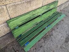 木製ベンチの修理:工事前写真