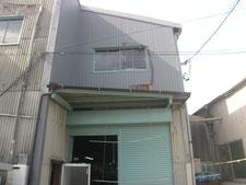 軒樋と竪樋の取替(修復):工事後写真