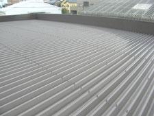 遮熱塗装による暑さ対策工事:工事前写真