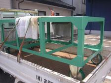 長尺板用台車の製作:工事後写真