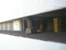 ハンガードアの修理:工事前写真