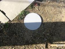 止水栓の蓋を製作:工事後写真