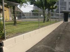 フェンスの工事写真