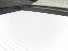 遮熱塗装による暑さ対策工事:工事後写真