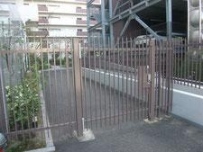 鉄扉の修繕工事:工事後写真