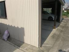 コーナーガードの取付:工事前写真