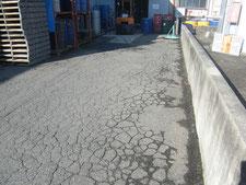 アスファルト舗装:工事前写真